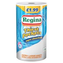 Regina Thirst Pockets Super Absorbent