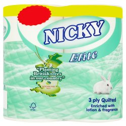 Nicky Elite White £1.49