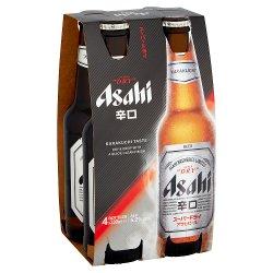 Asahi Super Dry 4 x 330ml