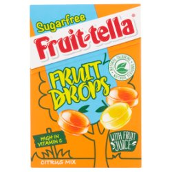 Fruittella Sugarfree Citrus Mix Fruit Drops 45g