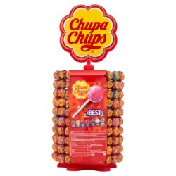 Chupa Chups Wheel Best of Lollipops 200 x 12g