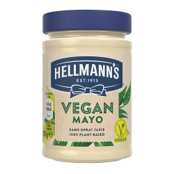 Hellmann's Vegan No Artificial Flavours or Preservatives Mayonnaise For a Tasty Vegan Sandwich 270g