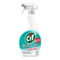 Cif Ultrafast Multi-Purpose Spray with Bleach 450 ml