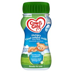 Cow & Gate Hungry Baby Milk Formula From Birth 200ml
