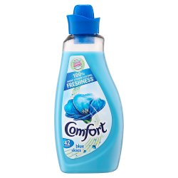 Comfort Fabric Conditioner Blue Skies 42 Wash 1.5L
