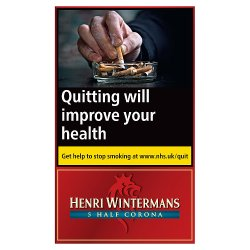 Henri Wintermans 5 Half Corona Cigars