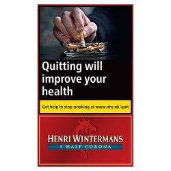 Henri Wintermans 5 Half Corona Cigars