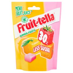 Fruittella Summer Fruits 30% Less Sugar 120g