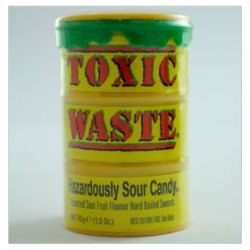 Toxic Waste Hazardously Sour Candy 42g