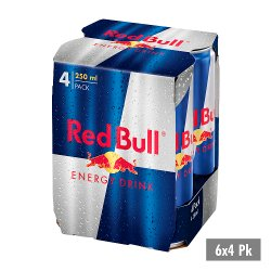 Red Bull Energy Drink, PM £4.89, 250ml (6x4 Pack)