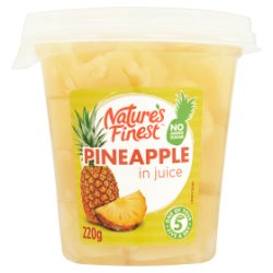 Nature's Finest Pineapple in Juice 220g