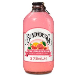 Bundaberg Pink Grapefruit 375ml Glass Bottle