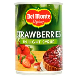Del Monte Strawberries in Light Syrup 415g
