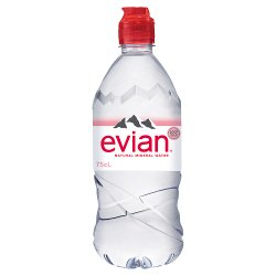 Evian Natural Mineral Water 750ml