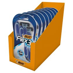 BIC Flex 3 BL4 - Box of 8