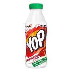 Yop Strawberry Flavour Drinking Yogurt 500g