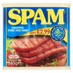 Spam Chopped Pork and Ham 340g