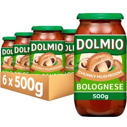 DOLMIO® Sauce for Bolognese Chunky Mushroom 500g