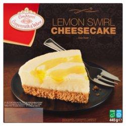 Conditorei Coppenrath & Wiese Lemon Swirl Cheesecake 445g