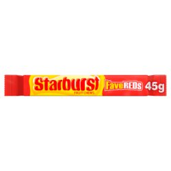 Starburst Fave Reds Fruit Chews 45g
