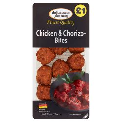 Delicatessen Fine Eating Chicken & Chorizo-Bites 200g