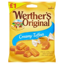 Werther's Original Creamy Toffees 110g