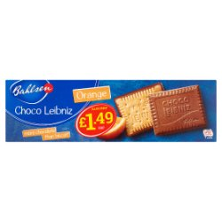 Bahlsen Orange Choco Leibniz 125g