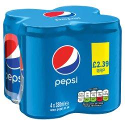 Pepsi 4 x 330ml