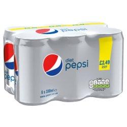 Pepsi Diet 6 x 330ml