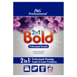 Bold 2in1 Professional Powder Detergent Lavender & Camomile 7kg 110 Washes