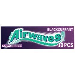Wrigley's Airwaves Blackcurrant Flavour Sugarfree Chewing Gum 14g