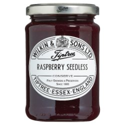 Wilkin & Sons Ltd Tiptree Raspberry Seedless Conserve 340g