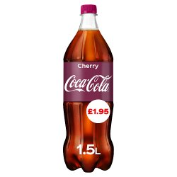 Coca-Cola Cherry 1.5L PM £1.95