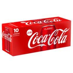 Coke Classic 10pk PM £3.99