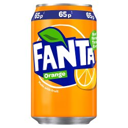 Fanta Orange 330ml PMP 65p