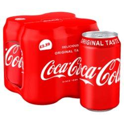 Coca-Cola Classic 4 x 330ml PMP £2.39