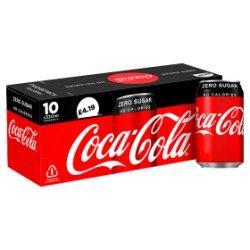 Coca-Cola Zero Sugar 10 x 330ml PMP £4.19