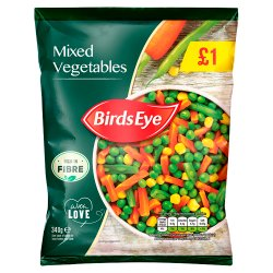 Birds Eye Field Fresh Mixed Vegetables 340g
