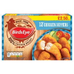 Birds Eye 12 Chicken Dippers 220g