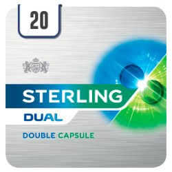 Sterling Dual Double Capsule King Size Cigarettes 20