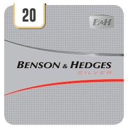 Benson & Hedges Silver 20 Cigarettes Track & Trace Compliant