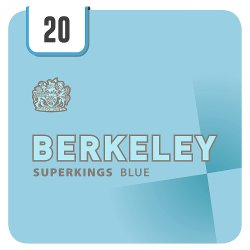 Berkeley Superkings Blue 20 Cigarettes
