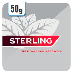 Sterling Rolling Tobacco 5 x 50g Track & Trace Compliant