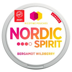 Nordic Spirit Nicotine Pouches Bergamot Wildberry 9mg