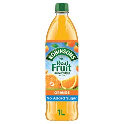 Robinsons Fruit Squash Orange 12 x 1L