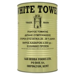 White Tower Tomato Paste 4550g