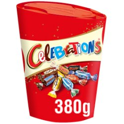 Celebrations Chocolate Gift Carton 380g