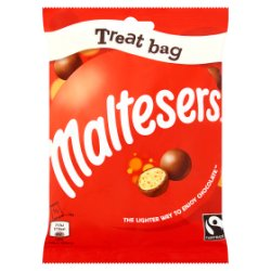 Maltesers Fairtrade Chocolate Treat Bag 68g
