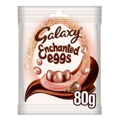 Galaxy Enchanted Eggs Easter Chocolate Bag 80g