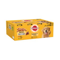 Pedigree Adult Wet Dog Food Tins Mixed in Loaf 12 x 400g